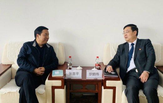 陕西省大数据集团有限公司前来市国资公司考察交流