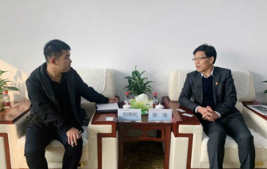 中国建筑科学研究院有限公司前来市国资公司考察交流