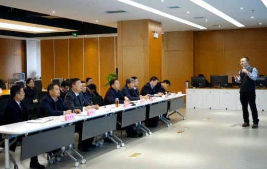 市国资委党委书记、主任朱吉良携国资公司一行赴陕西省大数据集团考察交流